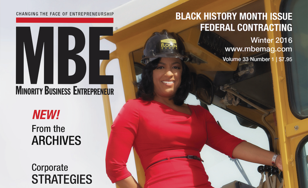 Minority Business Entrepreneur
